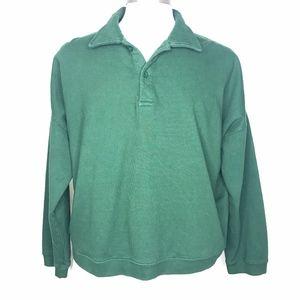 NWT John Galt Green Pullover Sweatshirt A090654